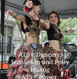 Jeanie Linn and Polly Huang
